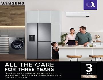 Samsung 3 Year Warranty