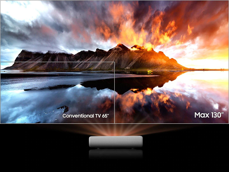 جهاز عرض ليزر ثلاثي الأبعاد بدقة 4K UHD بدقة 4K من سامسونج10