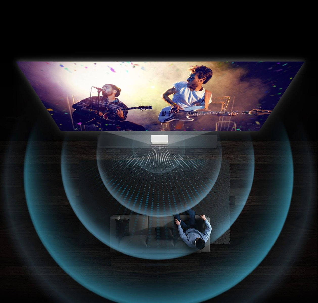 Samsung 130 inch  Premiere Smart 4K UHD Ultra-short throw Triple laser projector5 (3)