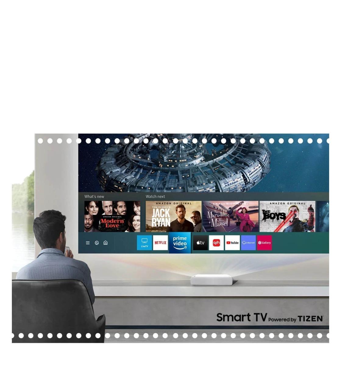 جهاز العرض الليزري Premiere Smart 4K UHD ذو الإسقاط القصير للغاية ثلاثي الأبعاد الكويت2