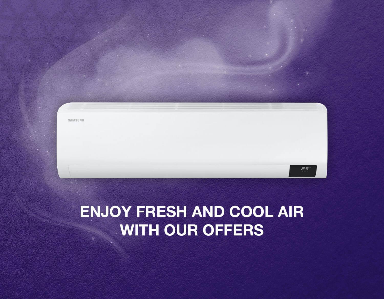 مكيفات سامسونج samsung Hisense ac offers in kuwait online discount offers deals price discount andalus