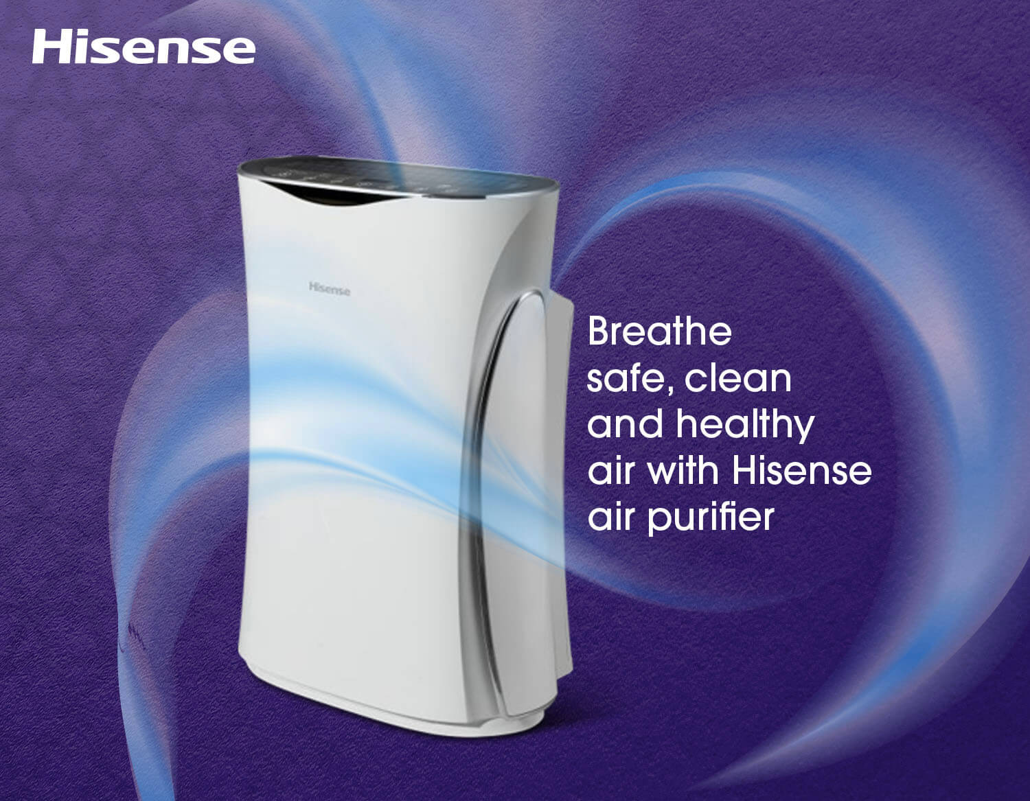 Buy Hisense Air purifier air filter  in kuwait online from Andalus Electronics Online Store in Kuwait