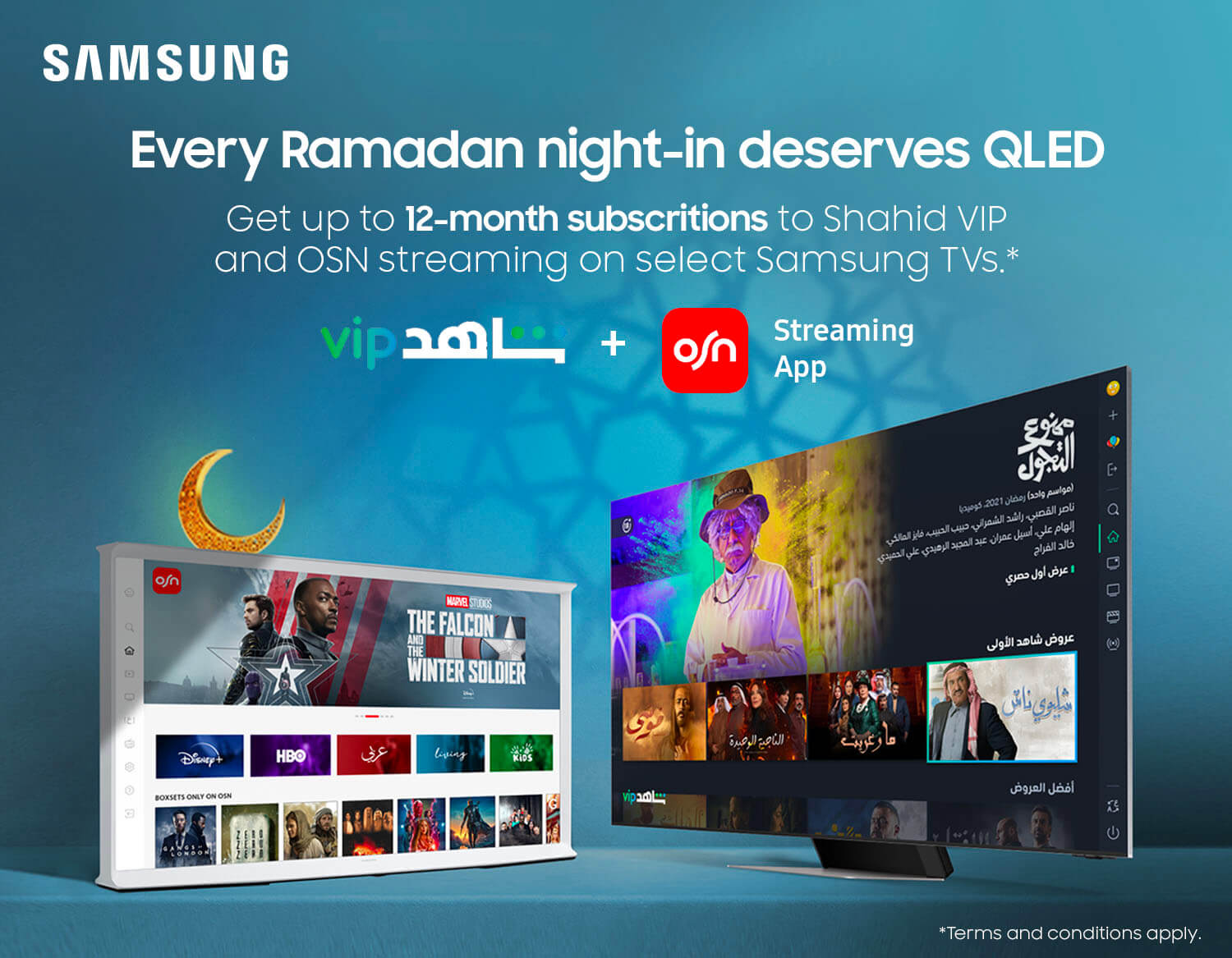 Buy samsung online tv with osn & shahid tv free subscription smart 4k 8k uhd fhd samsung kuwait Best price & offers