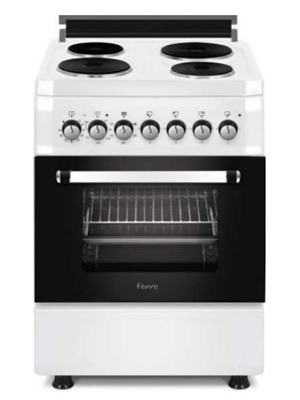 Ferre Electric Cooker 60 x 60 4 Electric Burner White