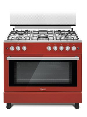 Ferre 90x60cm 5 Burners Free Standing Gas Cooker