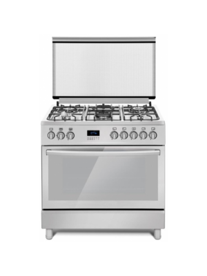 Ferre 90x60cm 5 Burners Free Standing Gas Cooker (FGC96FSXD) – Stainless Steel