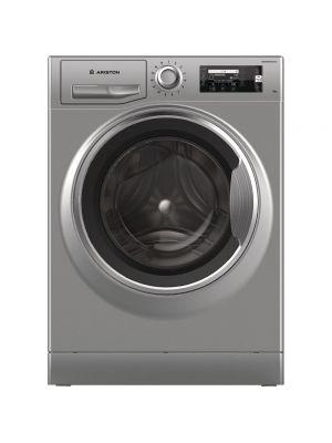 Ariston Washing machine 11KG Natis (ACTIVE CARE), Silver, LCD, Inverter - NLLCD1165 SCADGCC