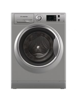 Ariston Front Load washer 9kg 1200 rpm  LCD, Inverter (Silver)