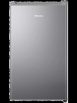 Hisense Single Door Refrigerator 120 Liter RR120DAGS Silver