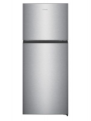 Hisense 488LTR Top Mount Refrigerator (RT488N4ASU) - Inox
