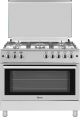 Ferre 90x60cm 5 Burners Free Standing Gas Cooker (FGC96FS) – Silver