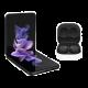 Samsung galaxy Flip 3 128GB Phantom  Black 5G + Buds 2